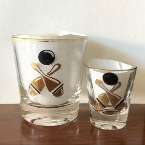 Other - 2 rock glasses and 2 shot glasses.